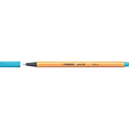 STABILO Fineliner point 88, Strichstärke: 0,4 mm, hellblau