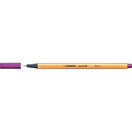 STABILO Fineliner point 88, Strichstärke: 0,4 mm, lila