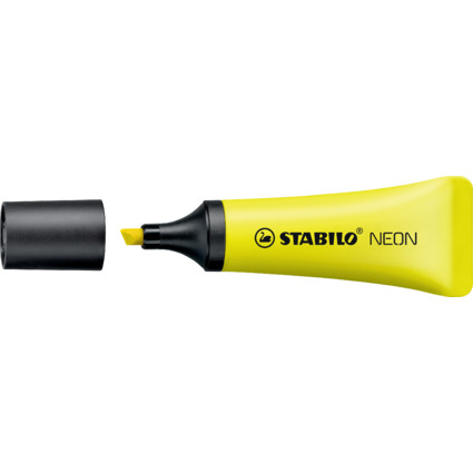 STABILO Textmarker NEON, gelb