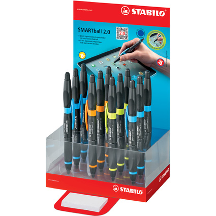 STABILO Eingabestift SMARTball 2.0, im 12er Karton-Display