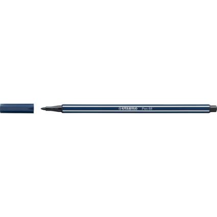 STABILO Fasermaler Pen 68, Strichstärke: 1,0 mm, paynesgrau