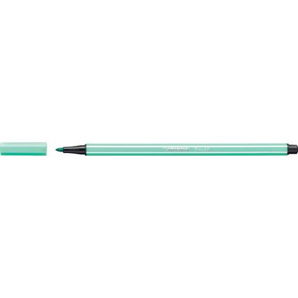 STABILO Fasermaler Pen 68, Strichstärke: 1,0 mm, eisgrün