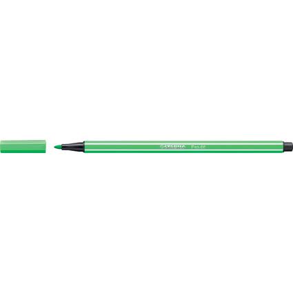 STABILO Fasermaler Pen 68, Strichstärke: 1,0 mm, smaragdgrün