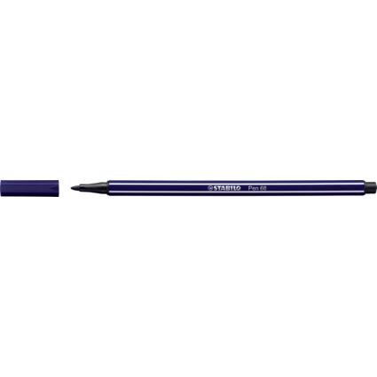 STABILO Fasermaler Pen 68, Strichstärke: 1,0 mm, preußisch-