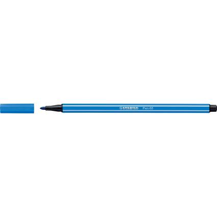 STABILO Fasermaler Pen 68, Strichstärke: 1,0 mm, dunkelblau