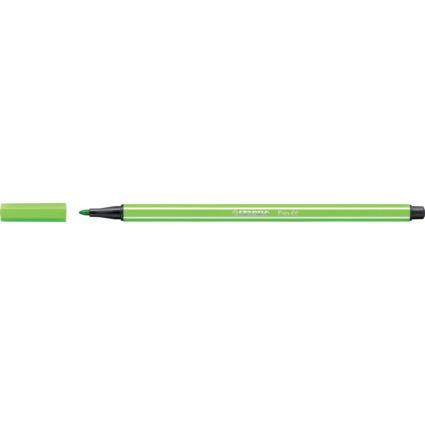 STABILO Fasermaler Pen 68, Strichstärke: 1,0 mm, laubgrün
