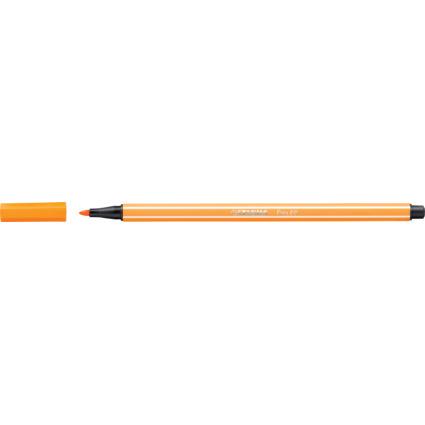 STABILO Fasermaler Pen 68, Strichstärke: 1,0 mm, orange