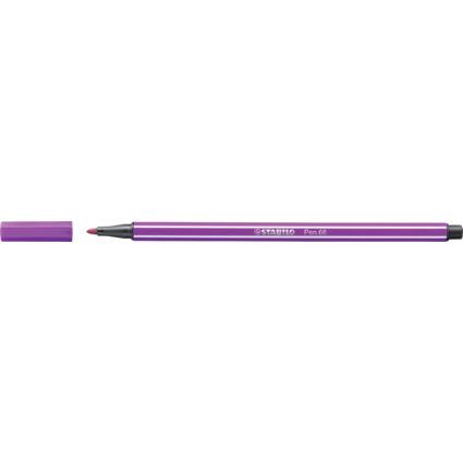 STABILO Fasermaler Pen 68, Strichstärke: 1,0 mm, lila