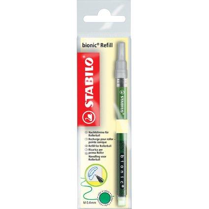 STABILO Ersatzmine für Tintenroller bionic, grün