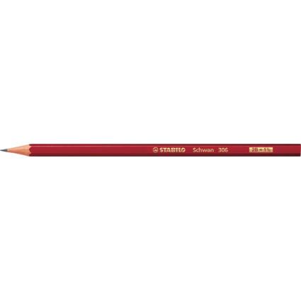 STABILO Bleistift Schwan, sechseckig, Härtegrad: 2B