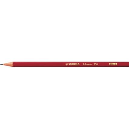 STABILO Bleistift Schwan, sechseckig, Härtegrad: 2H