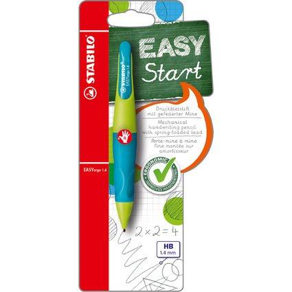 STABILO Bleistift EASYergo 1.4, limonengrün/aquamarin