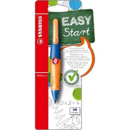 STABILO Bleistift EASYergo 1.4, ultramarin/neonorange
