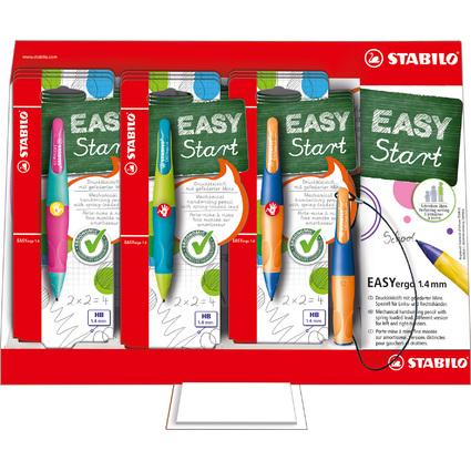 STABILO Bleistift EASYergo 1.4, 9er Karton-Display