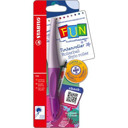 STABILO Tintenroller FUN, lila/pastelllila