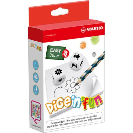 STABILO Feinmotorik-Spiel EASY Start dice'n'fun