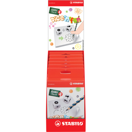 STABILO Feinmotorik-Spiel EASY Start dice'n'fun