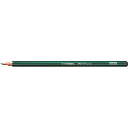 STABILO Bleistift Othello, sechseckig, Härtegrad: F