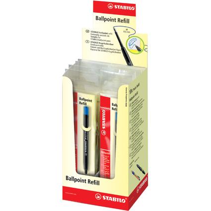 STABILO Kugelschreiber-Ersatzmine, blau
