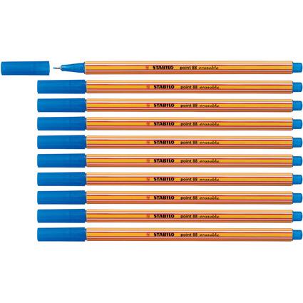 STABILO Fineliner point 88 erasable, Strichstärke: 0,4 mm