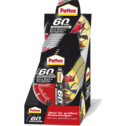 Pattex Universalkleber 60 sec., 20 g Tube
