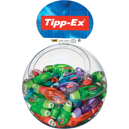 "Tipp-Ex Korrekturroller ""Micro Tape Twist"", im Kugel-Display"
