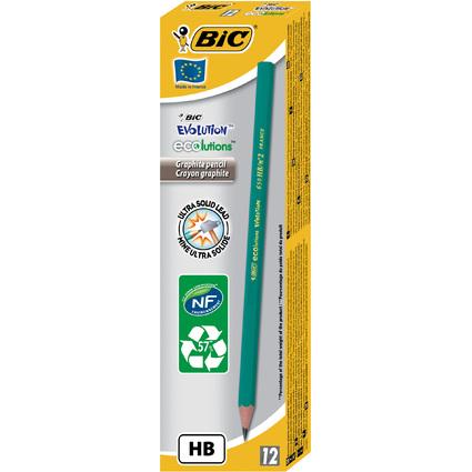 BIC Bleistift Evolution ECOlutions 650, Härtegrad: HB