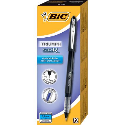 BIC Tintenroller Triumph 537R, schwarz, Strichstärke: 0,5 mm