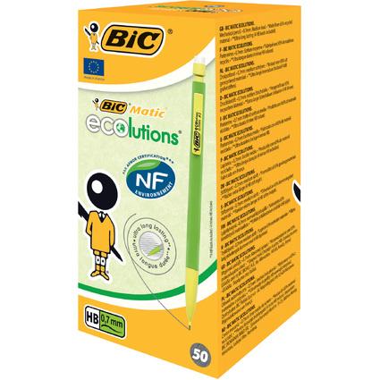 BIC Druckbleistift Matic ECOlutions, Minenstärke: 0,7 mm