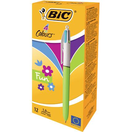 BIC Druckkugelschreiber 4Colours Fashion