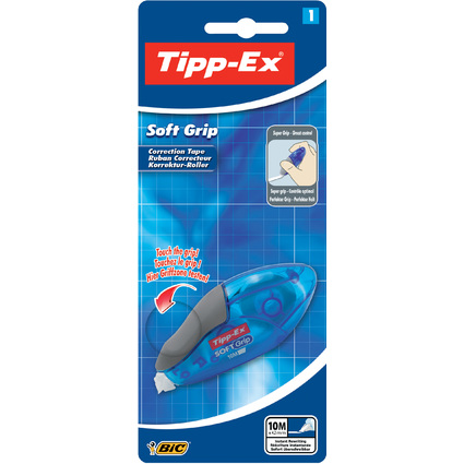 "Tipp-Ex Korrekturroller ""Soft Grip"", 4,2 mm x 10 m, Blister"