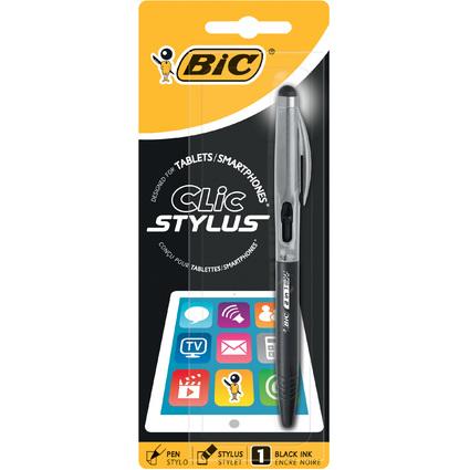 BIC Eingabestift Clic Stylus, farbig sortiert