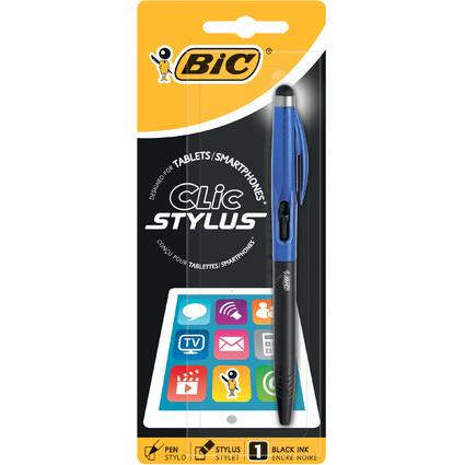 BIC Eingabestift Clic Stylus, silber