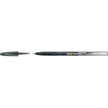 BIC Gelschreiber Cristal Gel Plus, Strichfarbe: schwarz