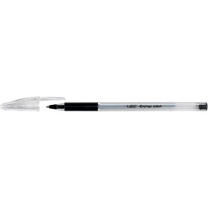 BIC Kugelschreiber Cristal Grip, Strichfarbe: schwarz