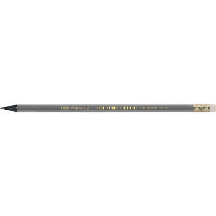 BIC Bleistift Evolution ECOlutions Black, mit Radierer