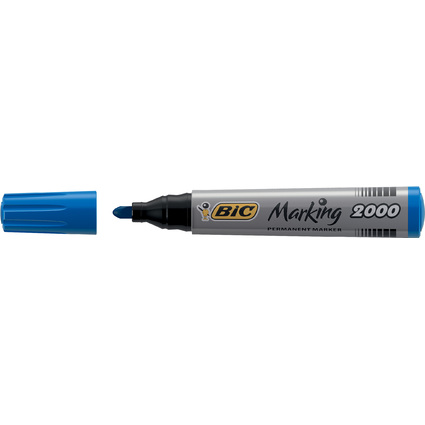 BIC Permanent-Marker Marking 2000 Ecolutions, blau