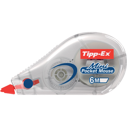 "Tipp-Ex Korrekturroller ""Mini Pocket Mouse"", 5 mm x 6 m"