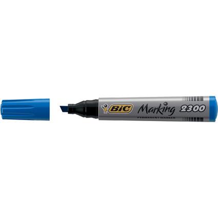BIC Permanent-Marker Marking 2300 Ecolutions, blau