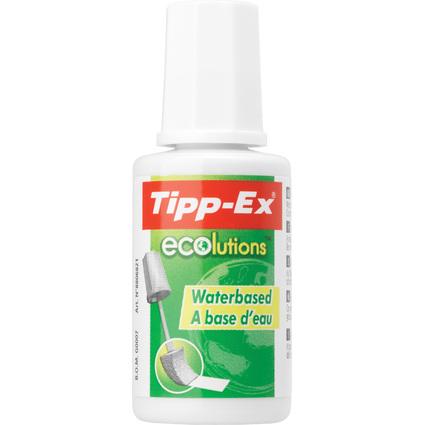 """Tipp-Ex Korrekturflüssigkeit """"ecolutions Fluid Aqua"""", weiß"""