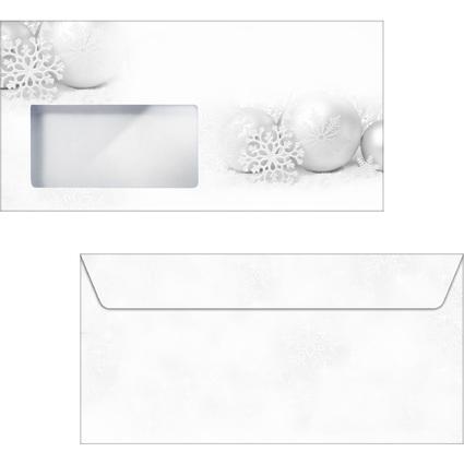 """sigel Weihnachts-Umschlag """"Winter Sparkle"""", DIN lang"""