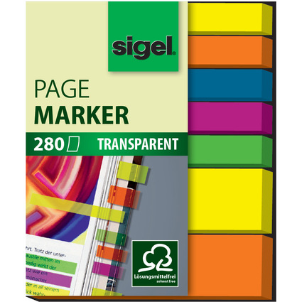 sigel Haftmarker Film Mix micro & mini, 280 Blatt
