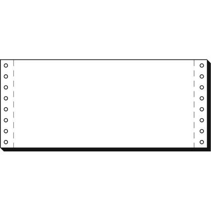 """sigel DIN-Computerpapier endlos, 240 mm x 4"""" (10,16 cm)"""