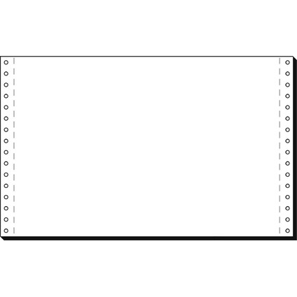 """sigel DIN-Computerpapier endlos, 330 mm x 8"""" (20,32 cm)"""