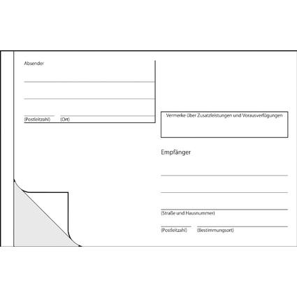 """sigel Vordruck """"Adress-Aufkleber"""", A6 quer, 100 Blatt"""