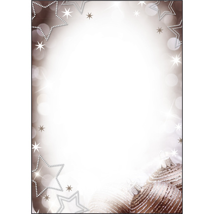 "sigel Weihnachts-Motiv-Papier ""Christmas Diamond"", A4"