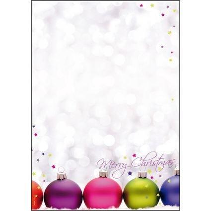 "sigel Weihnachts-Motiv-Papier ""Christmas Colors"", A4"