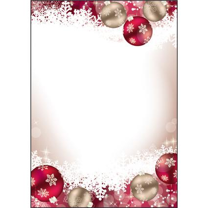 """sigel Weihnachts-Motiv-Papier """"Frozen"""", A4, 90 g/qm"""
