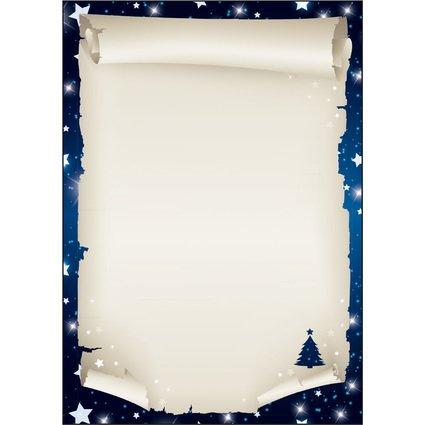 "sigel Weihnachts-Motiv-Papier ""Xmas Scroll"", A4, 90 g/qm"