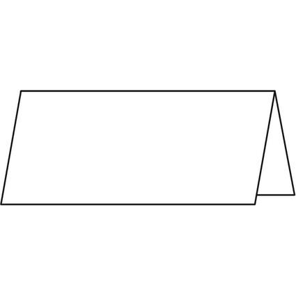 sigel Tischkarte, hochweiß, 185 g/qm, 95 x 42 mm